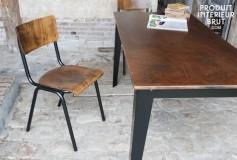 Pensez aux chaises pour semer des ambiances vintage ou industrielles